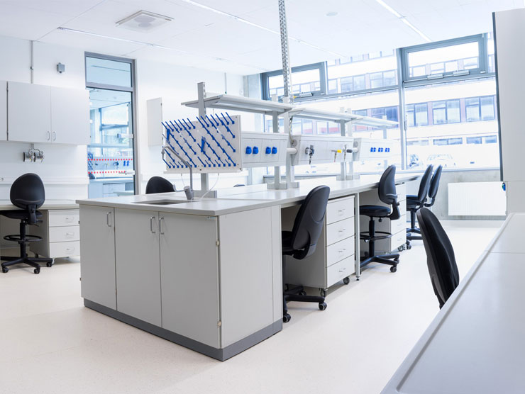 Laboratory Furniture Design Glamorous Laboratory Furniture  Labochema Inspiration Design